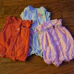 Gently used newborn onesies/rompers